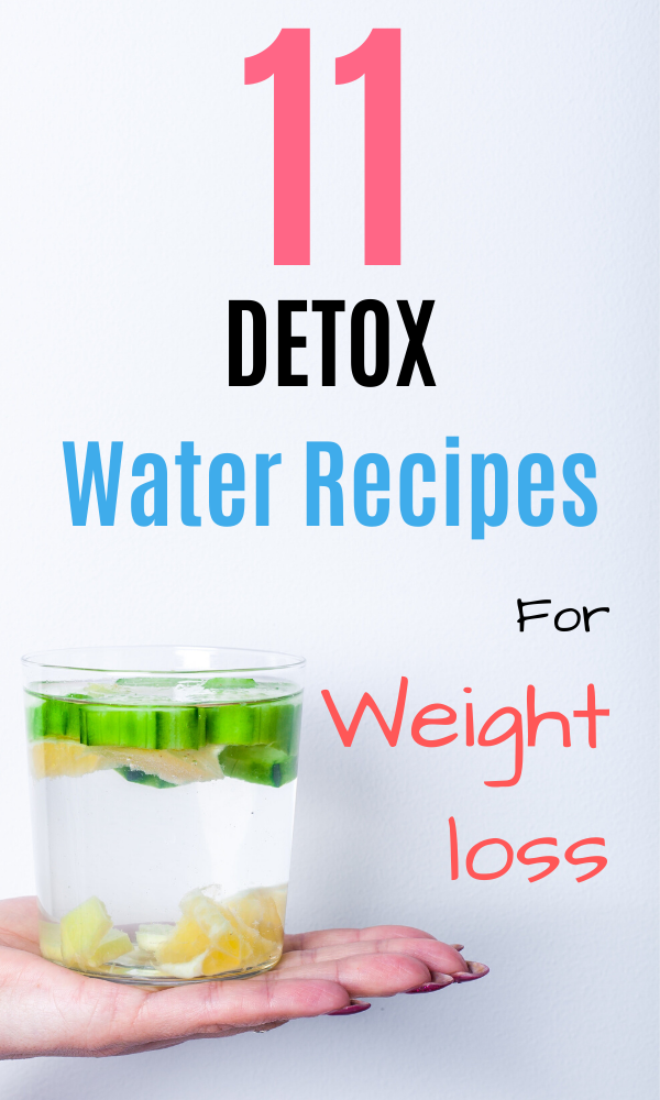 11 Detox Water Recipes For Weight Loss