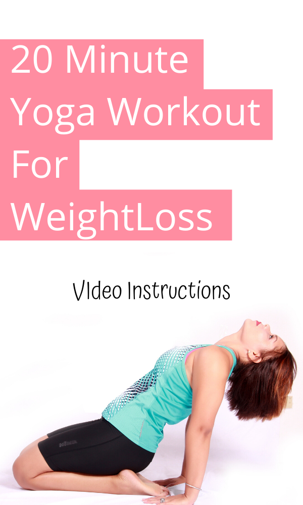 20 minute yoga workout for weightloss