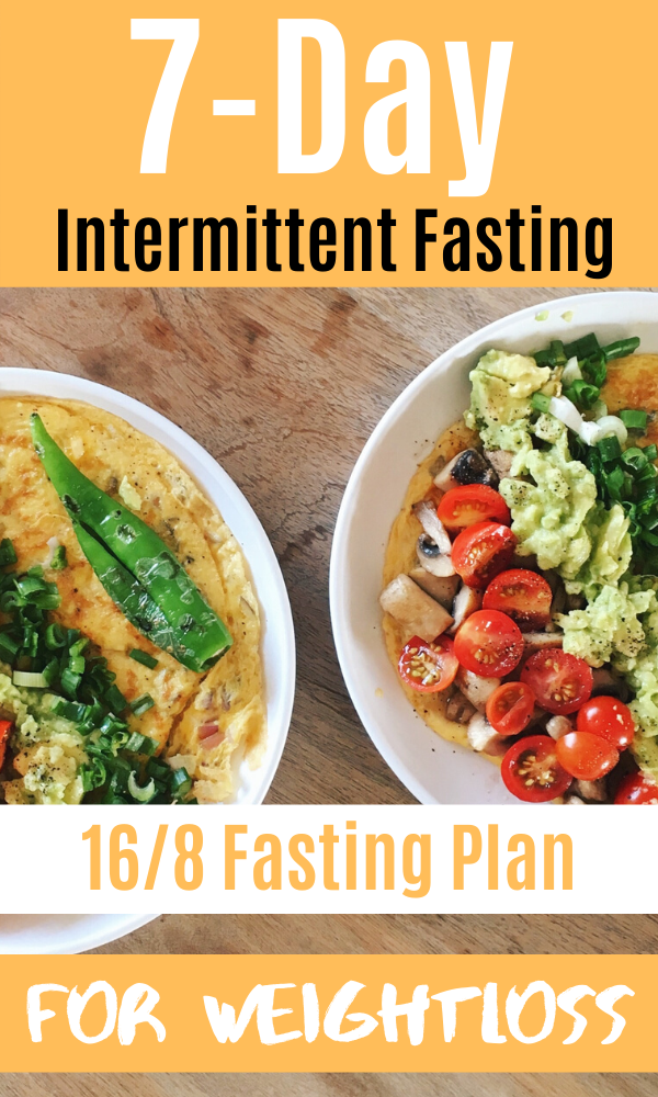 7-Day Intermittent Fasting - 16/8 Fasting Plan